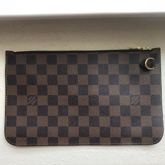 Louis Vuitton Handbags - Louis Vuitton Pouchette Wallet Damier Ebene